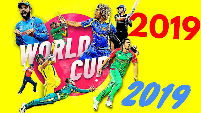 क्रिकेट विश्व कप 2019 कार्यक्रम