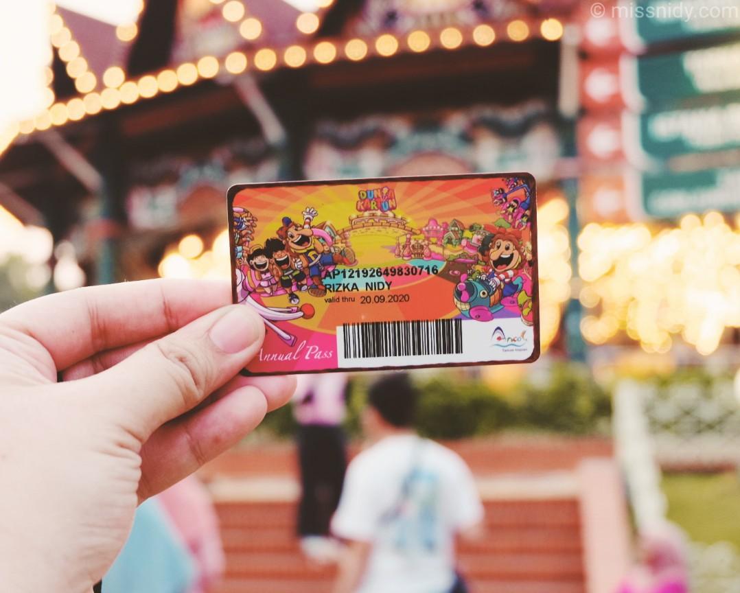 harga annual pass dufan terbaru