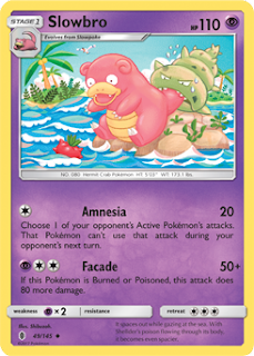 Slowbro Guardians Rising Pokemon Card