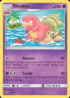 Slowbro Guardians Rising Pokemon Card