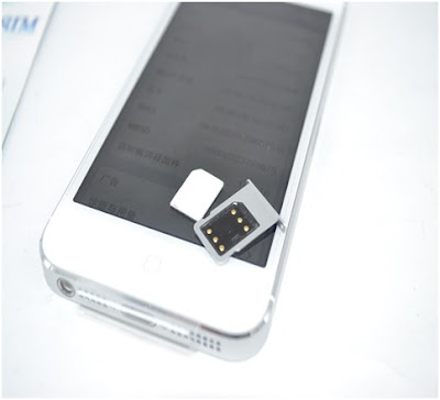 Sử dụng sim ghép chính là nguyên nhân gây ra lỗi ở iphone 5 lock.