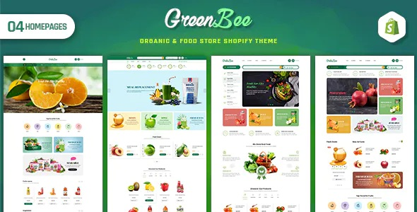 Best Vegetable and Fruit Shop Shopify Theme