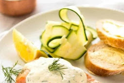#recipe #food #drink #delicious #family #Creamy #Dill #Sauce #with #Salmon #or #Trout