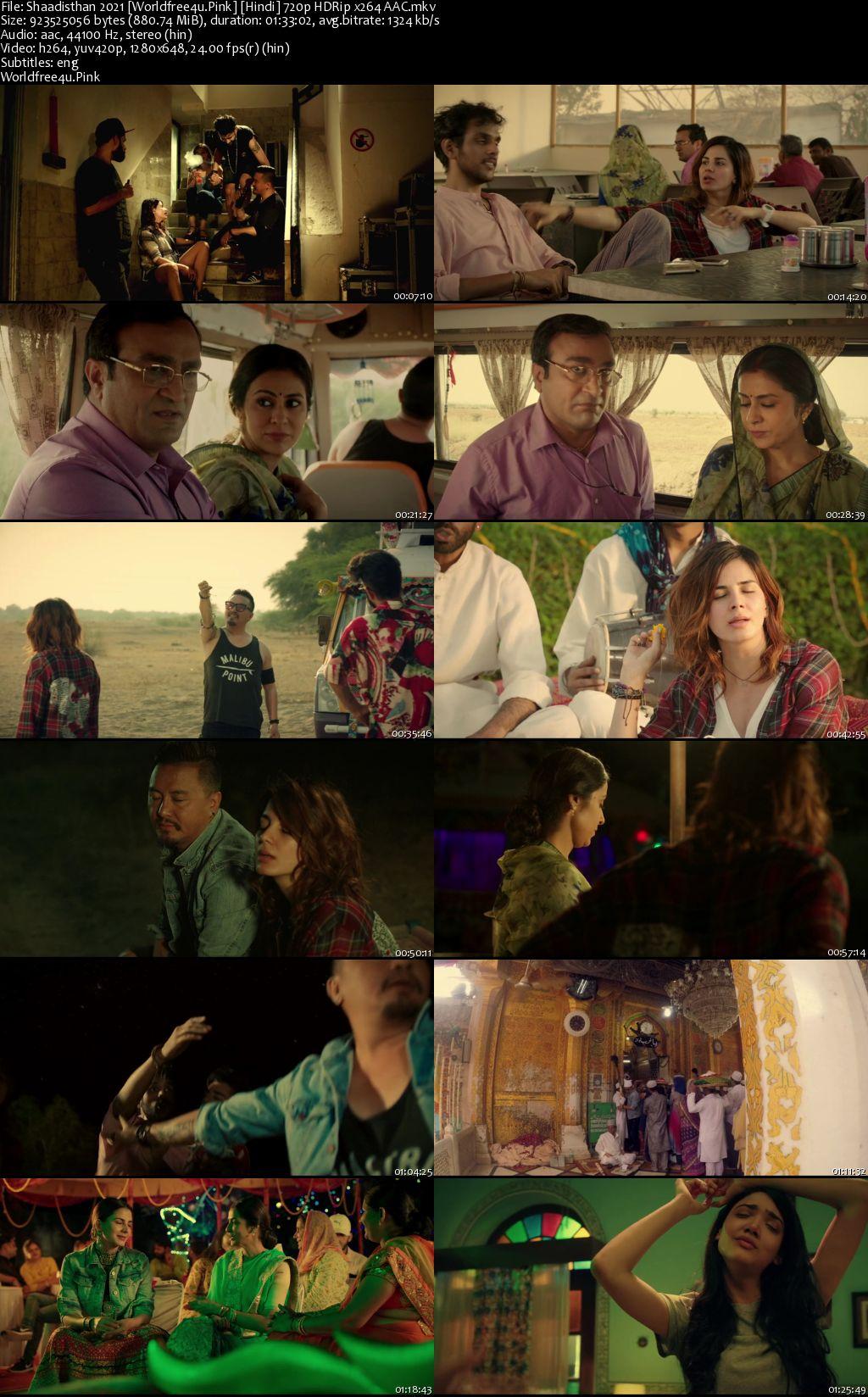 Shaadisthan 2021 Hindi HDRip 720p