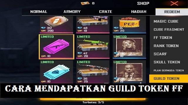 Cara Mendapatkan Guild Token FF