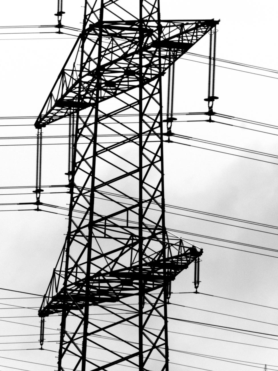 Schwarz-Weißer Strom