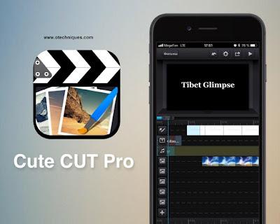 التطبيق الرائع Cute CUT للتعديل على مقاطع الفيديو
