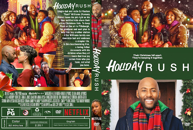 Holiday Rush DVD Cover
