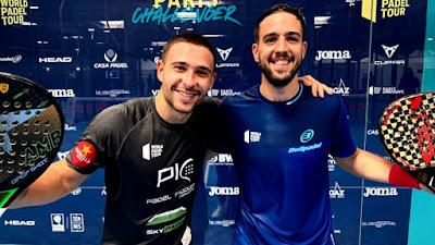 Campagnolo y Capra ganan a Piñeiro y Ruiz con un 6-1/6-2