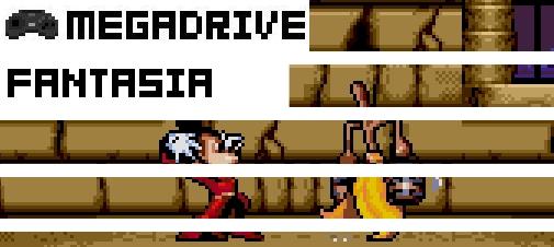 Fantasia Fan Made Sega Genesis Game