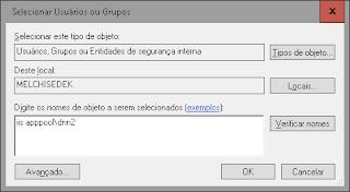 permissões de acesso ao sistema de arquivos