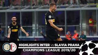 Slavia Prague 1 - 4 Inter champions league highlight