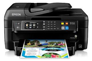 Printer Epson WorkForce WF-2660 Driver Download
