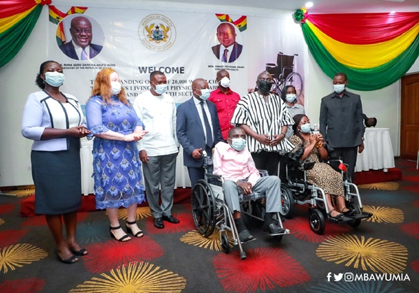 Govt Hands Over 20,000 Wheelchairs To Persons With Disability