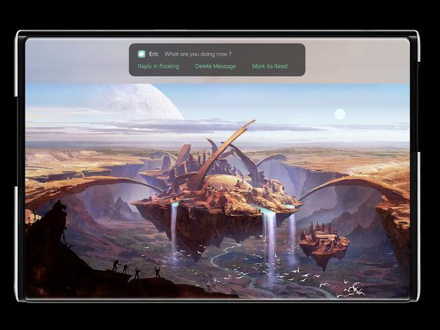 Oppo Hadirkan Konsep Smartphone Dengan Layar Yang Bisa Digulung - Oppo X 2021