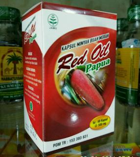 Jual RED OIL Kapsul Minyak Buah Merah Papua Surabaya.