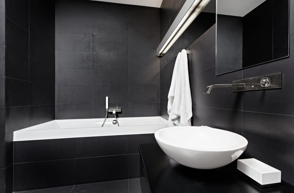 Interior Design of Minimalist House Bathrooms