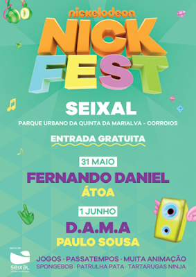 Nickelodeon Promove 2ª Edição do Nick Fest no Seixal!