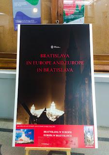 Wystawa Bratysława w Europie - Europa w Bratysławie okiem słowacystki, tłumacza i miłośniczki Bratysławy