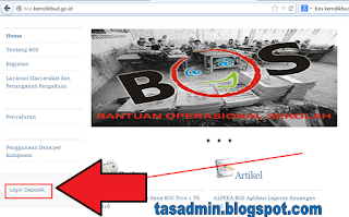 website bos kemdikbud