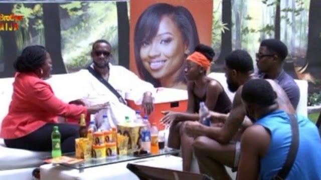 #BBNaija 2019: Funke Akindele visits housemates