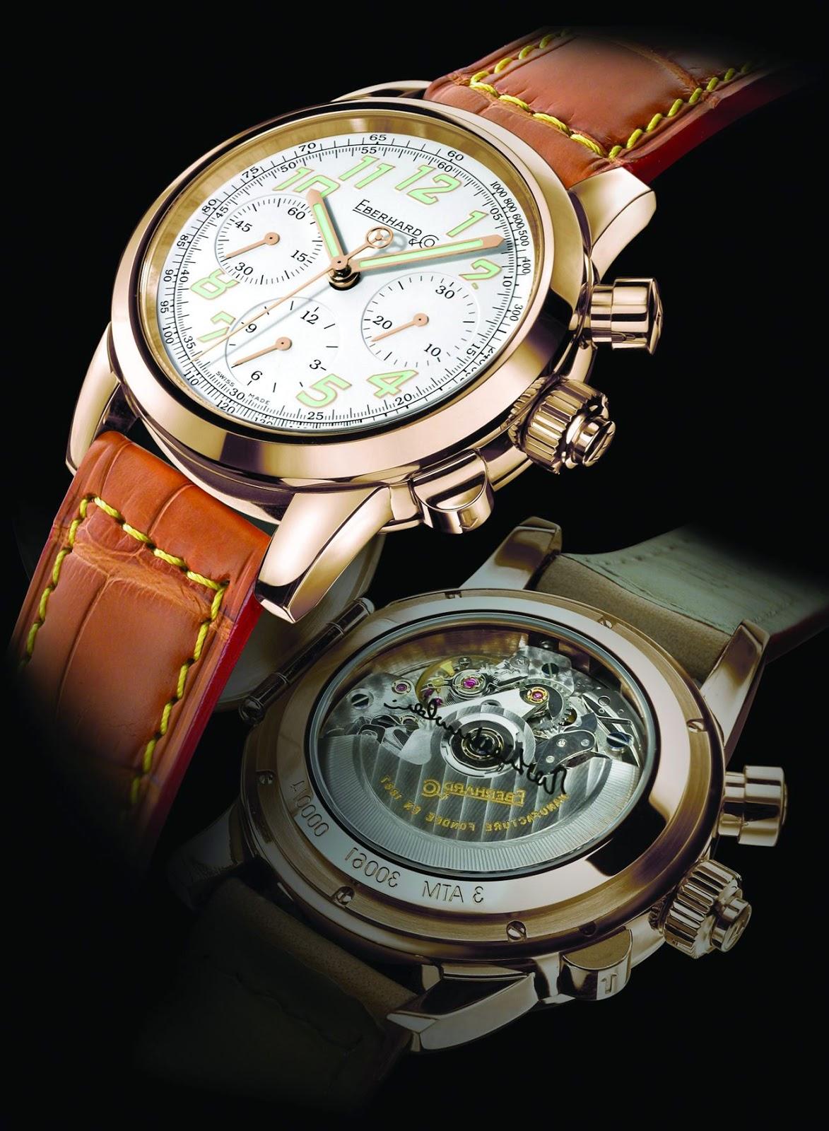 EBERHARD & Co. Vanderbilt Cup automatic chronograph watch