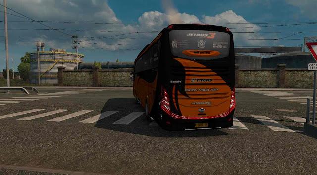 ets2 Jetbus 3 edit Van van