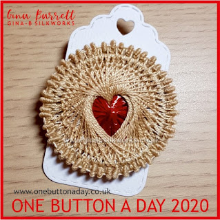 One Button a Day 2020 by Gina Barrett - Day 18: Jammie