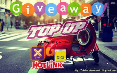 GIVEAWAY TOP UP BY Blogbabshambles
