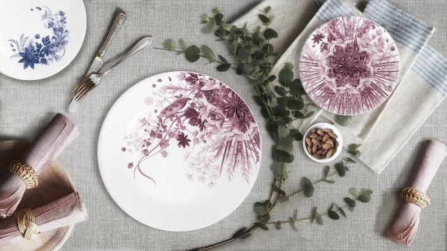 gio forma botanica piatti porcellana