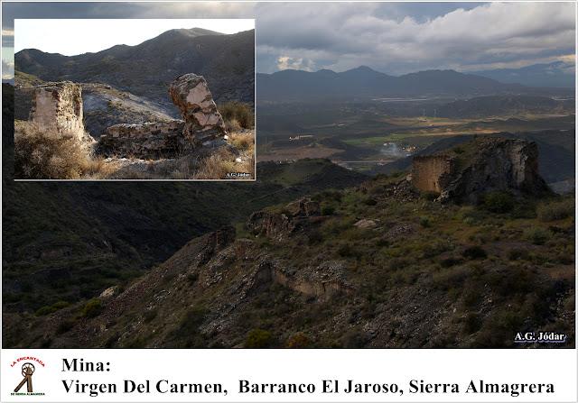 barranco El Jaroso, sierra almagrera, cuevas del almanzora