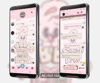 Bubble Kiss Theme For YOWhatsApp & Fouad WhatsApp By Ariana NM