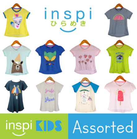 INSPI Kids Girls ASSORTED Top