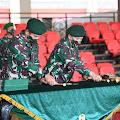 Mayjen TNI Eko Margiyono Resmi Jabat Pangkostrad