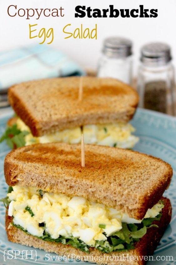Copycat Starbucks Egg Salad Sandwich #recipes #lunchrecipes #food #foodporn #healthy #yummy #instafood #foodie #delicious #dinner #breakfast #dessert #lunch #vegan #cake #eatclean #homemade #diet #healthyfood #cleaneating #foodstagram