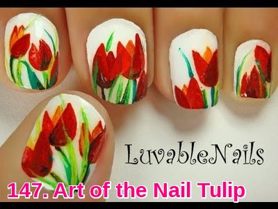 Art of the Nail Tulip