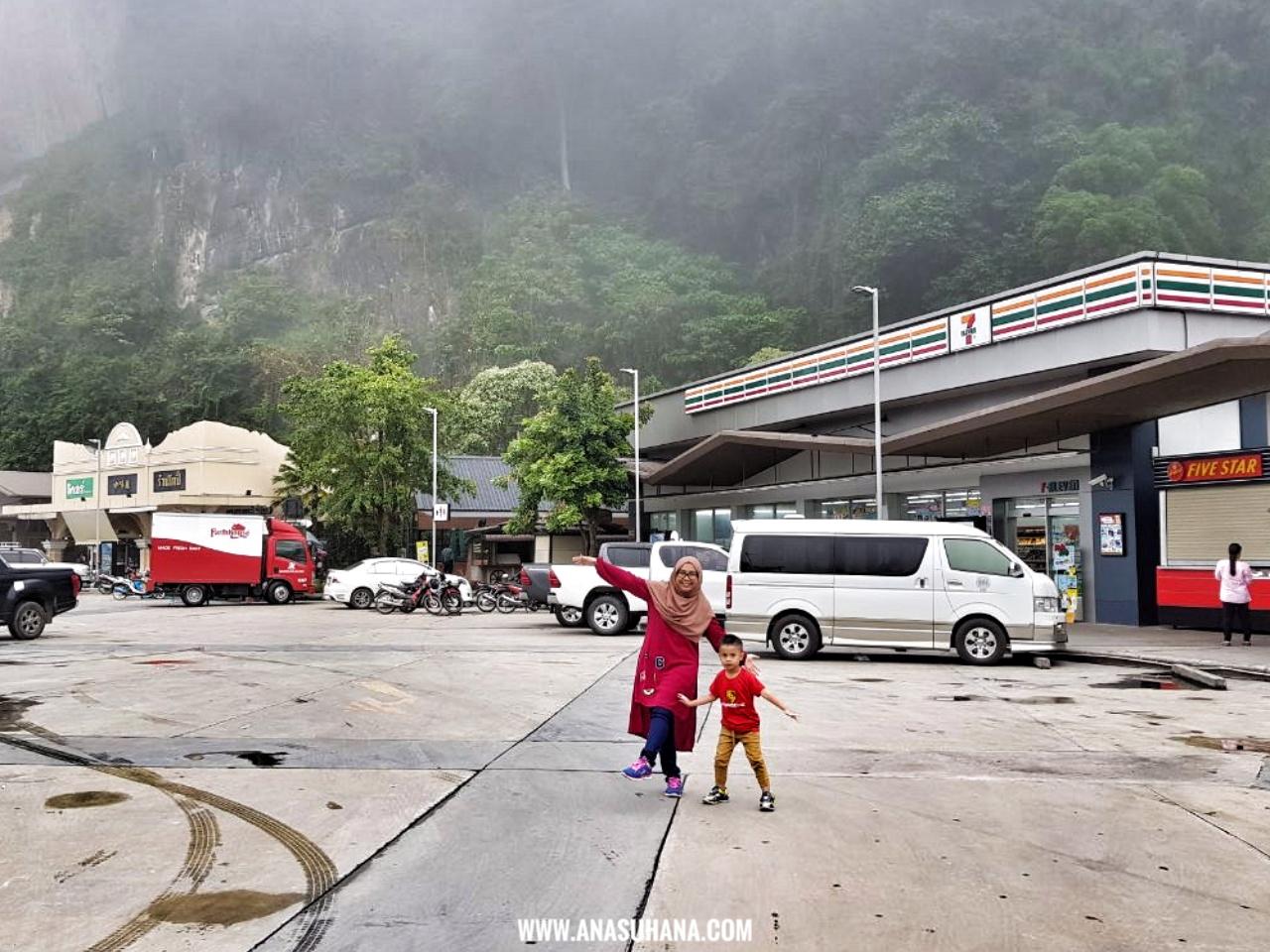 Kembara Thailand : Pengalaman Naik Bot di Thale Noi Phatthalung