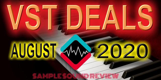 August 2020 plugin deals