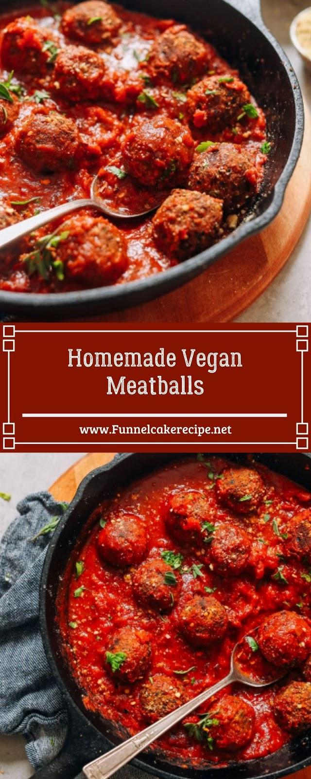 Homemade Vegan Meatballs