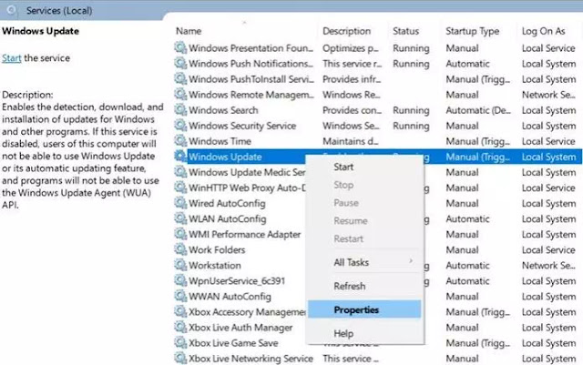 Mengatasi Service Registration is Missing or Corrupt Error di Windows 10-1