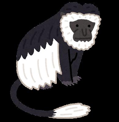 ゲレザのイラスト(猿)