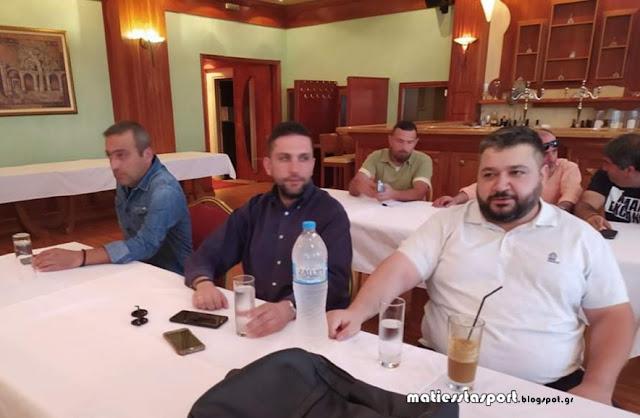 Συνέντευξη τύπου του Εορδαϊκού  - Παρουσίαση του επενδυτή Θανάση Κρυτσάνη - Ανακοινώθηκε επίσημα ο Δημήτρης Σιαπανίδης - Στόχος η άνοδος στην Γ' Εθνική 7