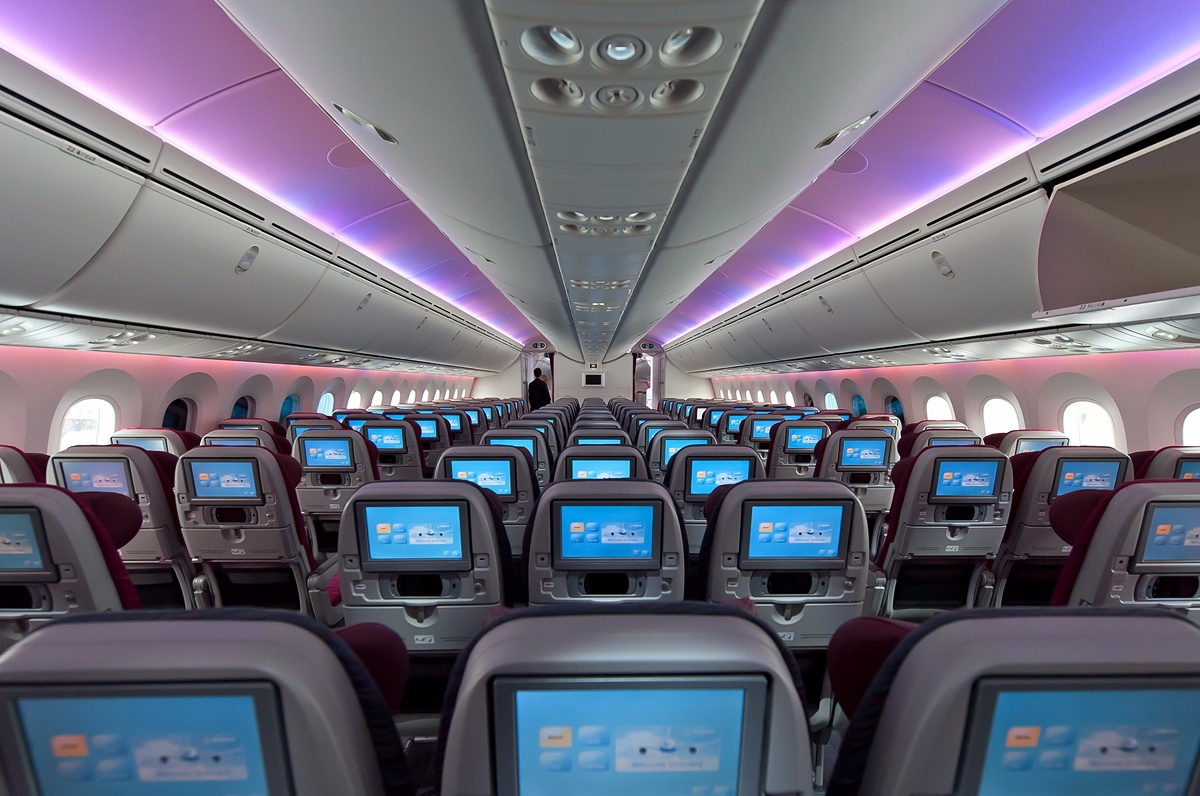 Qatar Airways Boeing 787-8 Seat Configuration and Layout