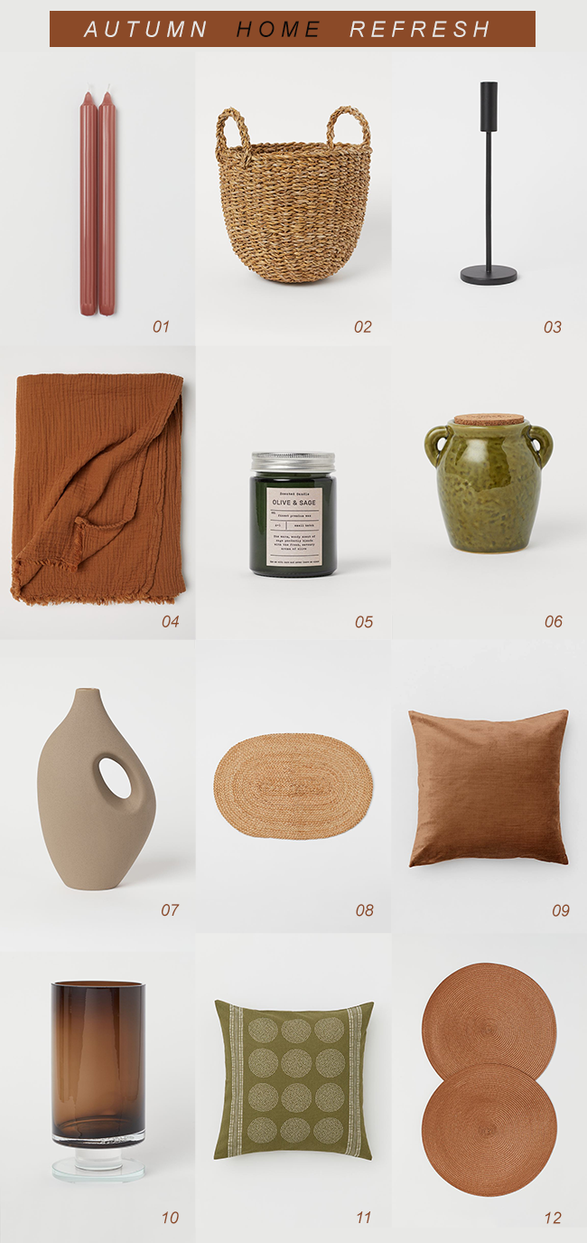 12 items to refresh your home for fall