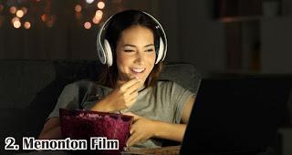 Menonton Film adalah salah satu cara seru rayakan valentine untuk jomblo