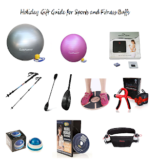 Holiday Gift Guide for Sports and Fitness Buffs