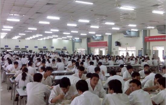 Cung cấp suất ăn công nghiệp tại Tp Hồ Chí Minh, Bình Dương, Long An...