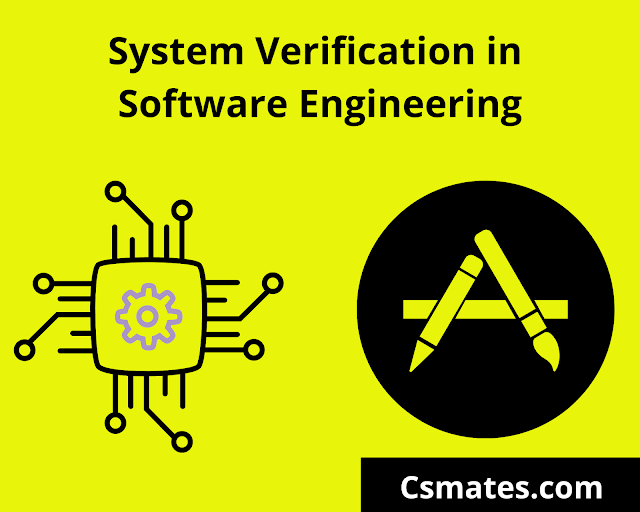 system verification in software testing