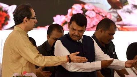 दलों ने क्रमोन्नति, महाराष्ट्र सरकार के गठन के लिए गतिरोध जारी है