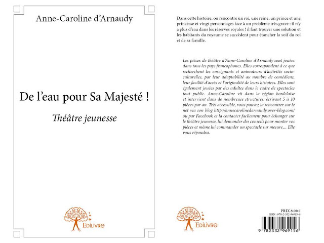 d'Arnaudy, de l'eau pour sa majesté, théâtre jeunesse